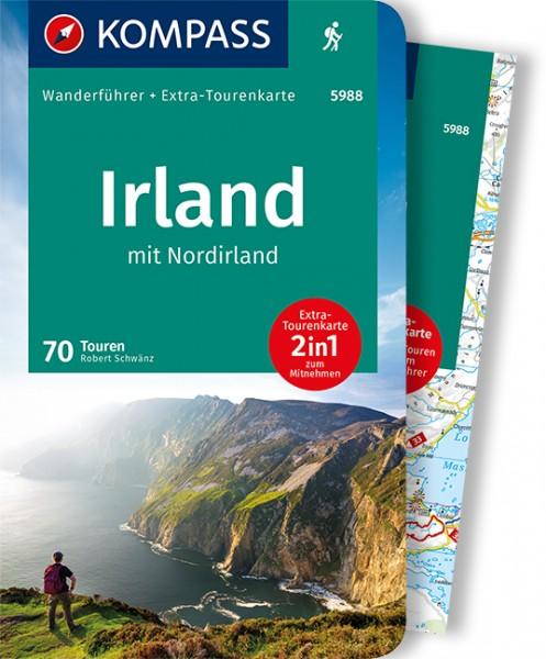 KOMPASS Wanderführer Irland mit Nordirland