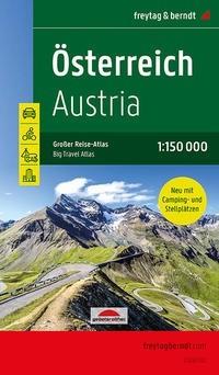 F&B Österreich Autoatlas - Großer Reise-Atlas