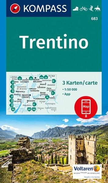 Kompass WK Trentino, 3er Set