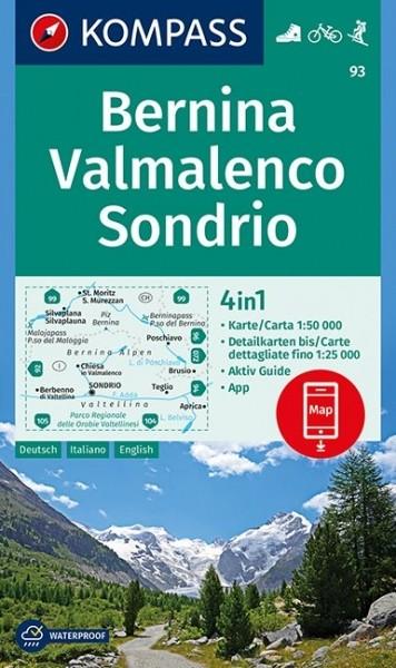 Kompass WK Bernina / Sondrio