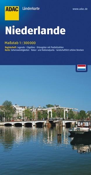 ADAC Länderkarte Niederlande