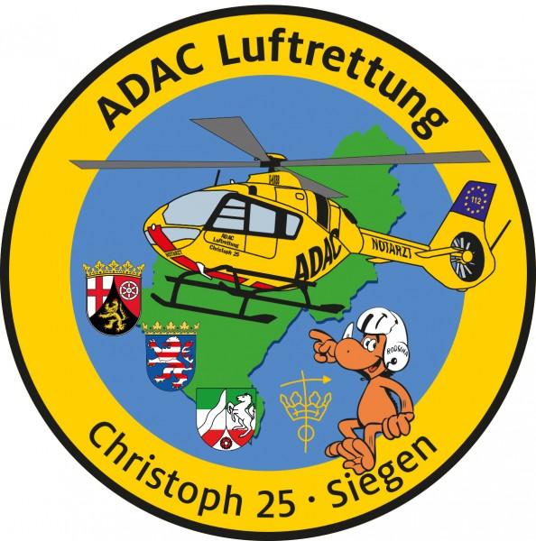 ADAC Luftrettung Fanpatch Christoph 25-Siegen
