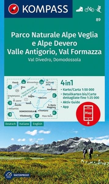 Kompass WK Parco Naturale Alpe