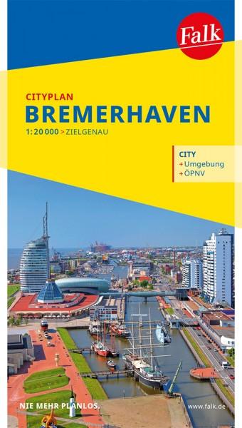 Falk Cityplan Bremerhaven