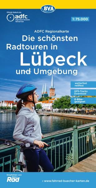 ADFC Regionalkarte Lübeck und Umgebung