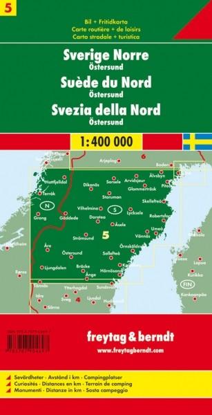 F&B Autokarte Schweden Nord