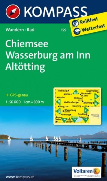 Kompass WK Chiemsee,Wasserburg