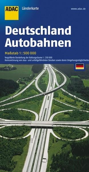 ADAC LK D Autobahnen 1:500.000