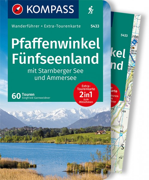 KOMPASS Wanderführer Pfaffenwinkel, Fünfseenland