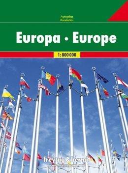F&B Autoatlas Europa 1:800.000