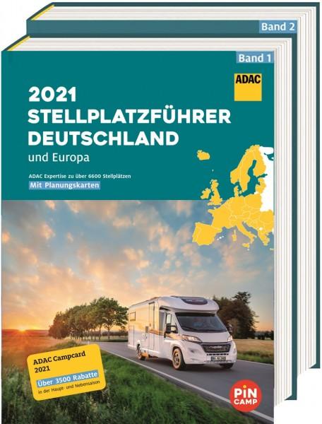 ADAC Stellplatzführer Deutschland/Europa 2021