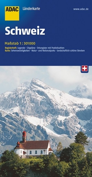 ADAC Länderkarte Schweiz