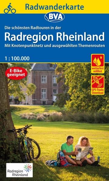 BVA Radwanderkarte RadRegion Rheinland