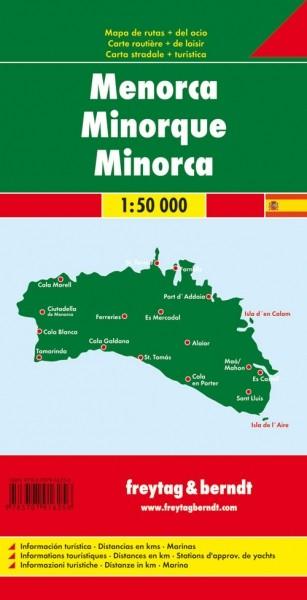 F&B Autokarte Menorca