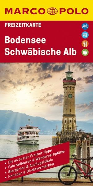 MARCO POLO Freizeitkarte Bodensee, Schwäbische Alb