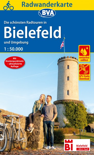 BVA Radwanderkarte Bielefeld und Umgebung