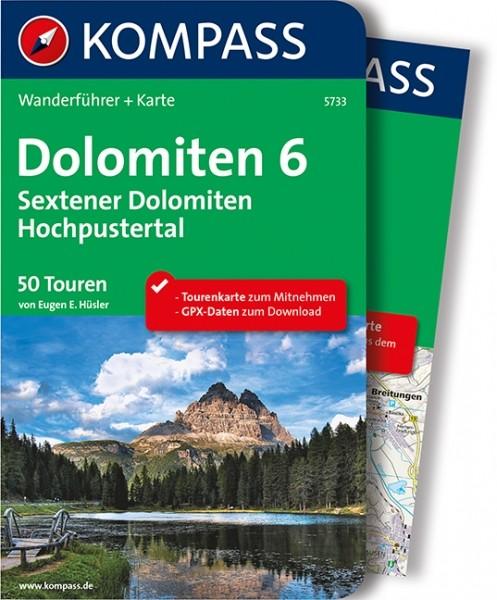 Kompass WF Dolomiten 6