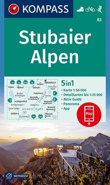 Kompass WK Stubaier Alpen