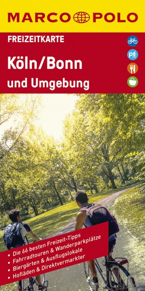MARCO POLO Freizeitkarte Köln und Umgebung