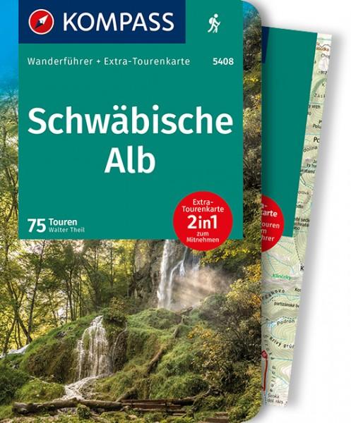 KOMPASS Wanderführer Schwäbische Alb mit Karte