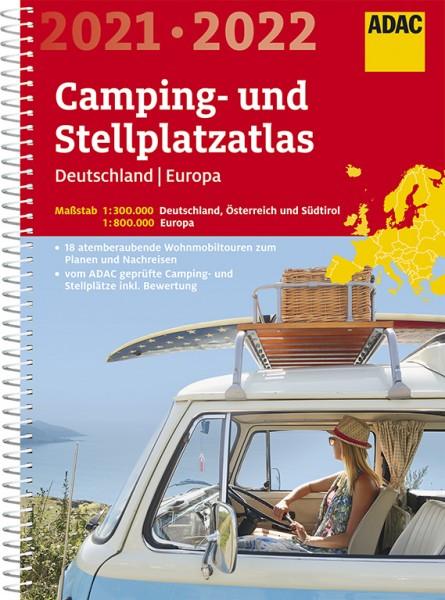 ADAC Camping/Stellplatzatlas D & Europa 2021/2022