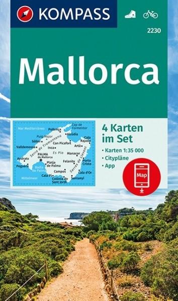 Kompass WK Set Mallorca