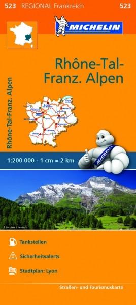 Michelin KR Rhonetal, fr.Alpen