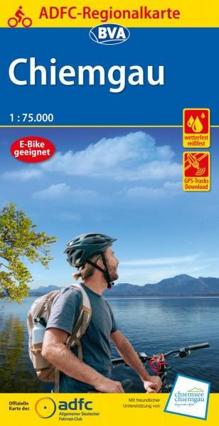 ADFC Regionalkarte Chiemgau