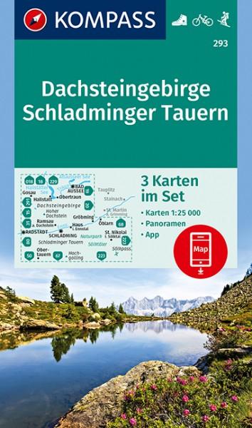 KOMPASS WK Dachsteingebirge, Schladminger Tauern