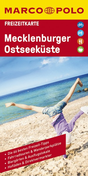 MARCO POLO Freizeitkarte Mecklenburgische Seen