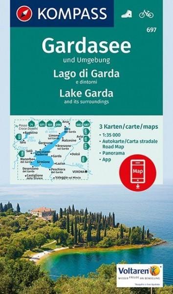 Kompass WK Gardasee, 3er Set