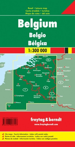F&B Autokarte Belgien