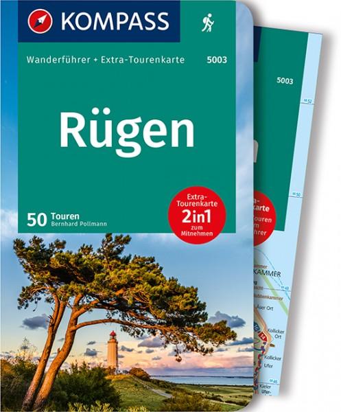 KOMPASS Wanderführer Rügen mit Karte