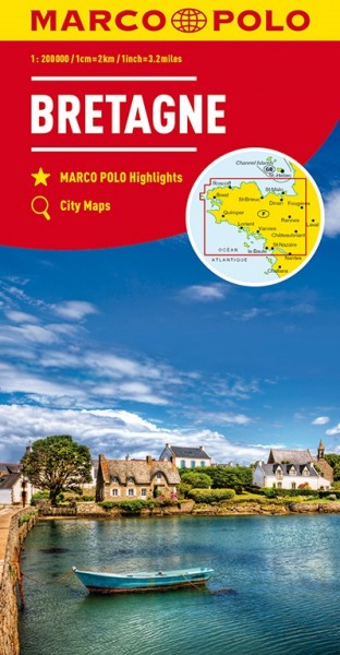 MP Karte Bretagne