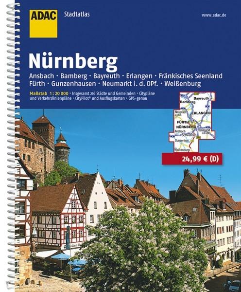 ADAC Stadtatlas Nürnberg
