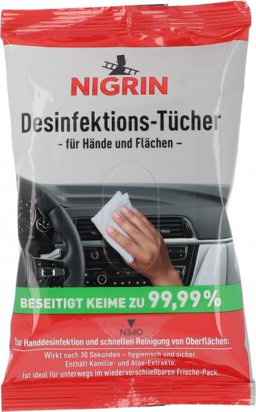 Desinfektions-Tücher für Hände und Fläche 12 Stk.