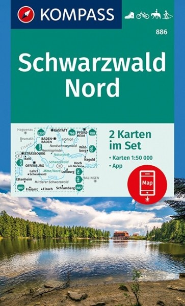 Kompass WK Schwarzwald Nord