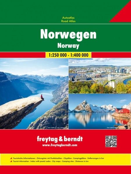 F&B Autoatlas Norwegen