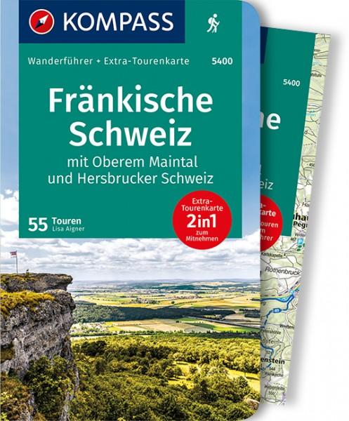 Kompass Wanderführer Fränkische Schweiz