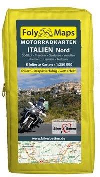FolyMaps Motorradkarten Italien Nord