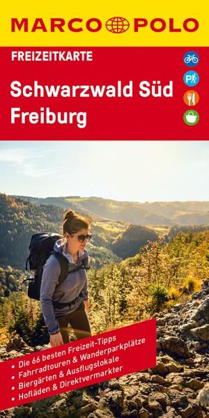MARCO POLO Freizeitkarte Schwarzwald Süd, Freiburg