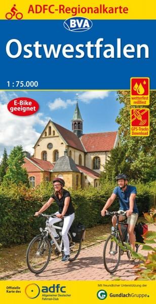 ADFC Regionalkarte Ostwestfalen