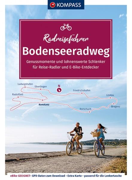 Kompass RadReiseFührer Erlebnis Bodenseeradweg