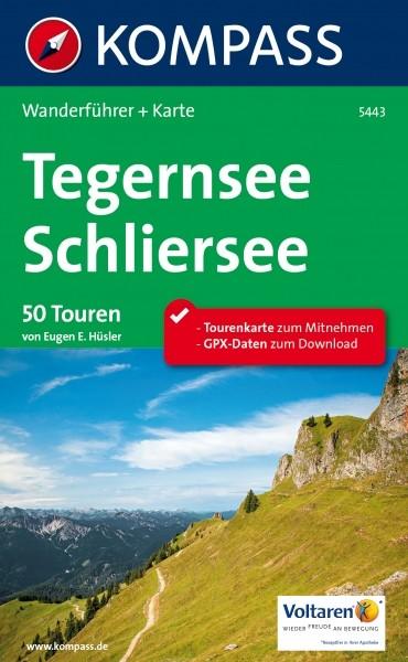 Kompass Wanderführer Tegernsee