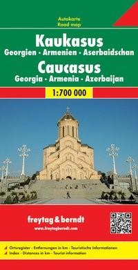 F&B Autokarte Kaukasus