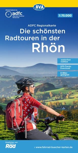 ADFC Regionalkarte Rhön