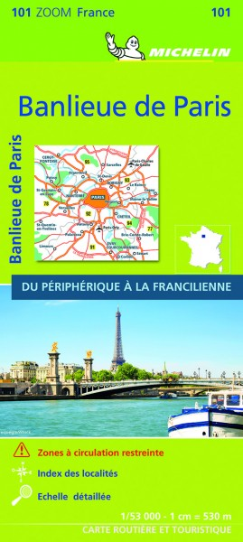 Michelin Vororte von Paris
