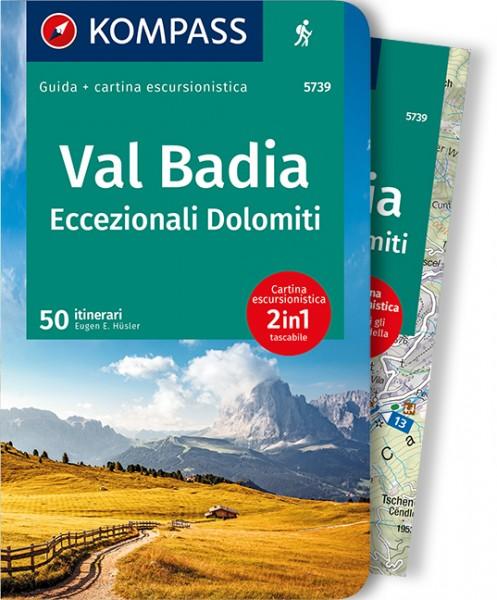 KOMPASS Wanderführer Val Badia