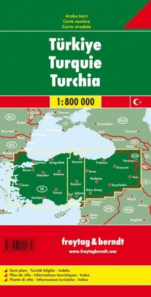 F&B Autokarte Türkei