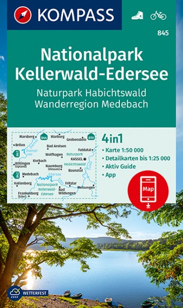 Kompass WK Nationalpark Kellerwald-Edersee
